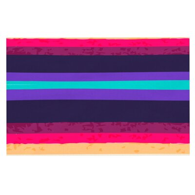 Nika Martinez Surf Stripes Doormat