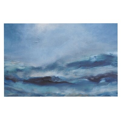 Iris Lehnhardt Rough Sea Ocean Doormat