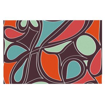 Miranda Mol Retro Swirl Doormat