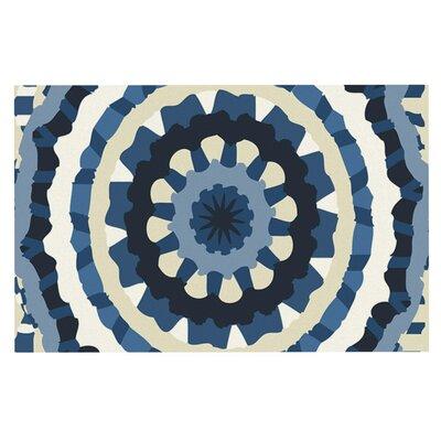 Laura Nicholson Ribbon Mandala Doormat