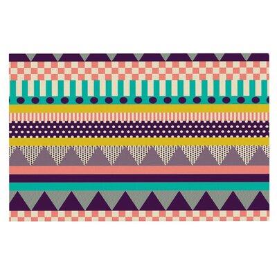 Louise Machado Decorative Stripes Doormat