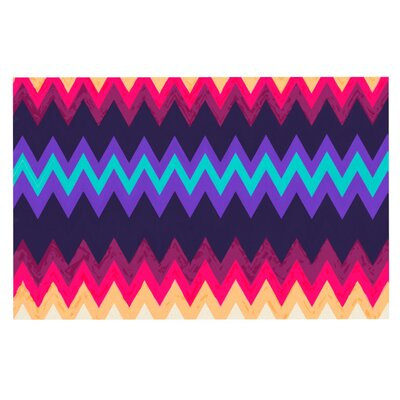 Nika Martinez Surf Chevron Doormat