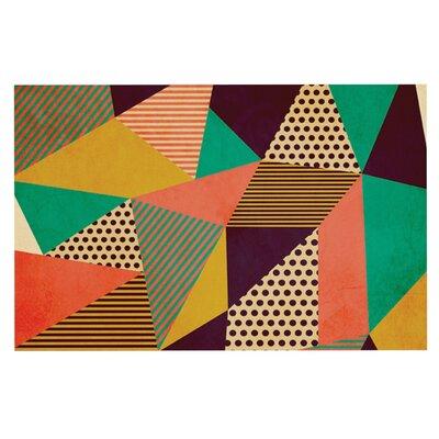 Louise Machado Geometric Love II Doormat