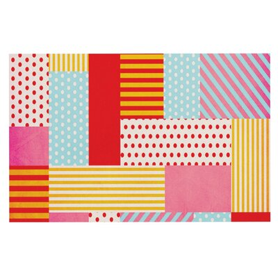 Louise Machado Geometric Pop Abstract Doormat