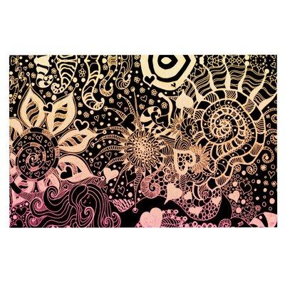 Monika Strigel Neptunes Garden Doormat Color: Pink/Cream