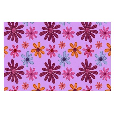 Jane Smith Woodland Floral Flowers Doormat
