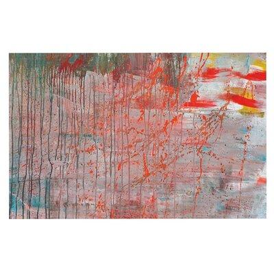 Iris Lehnhardt Mots de La Terre Splatter Paint Doormat
