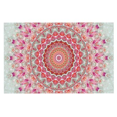 Iris Lehnhardt Summer Lace III Circle Doormat