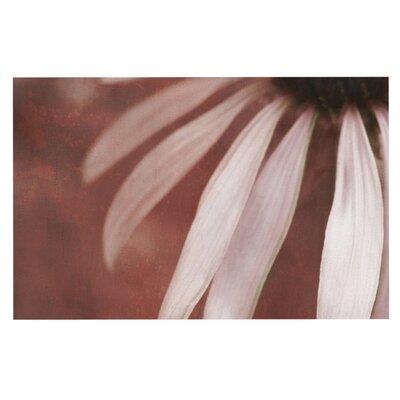 Iris Lehnhardt Copper and Pale Flower Doormat