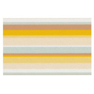 Nika Martinez Desert Stripes Doormat