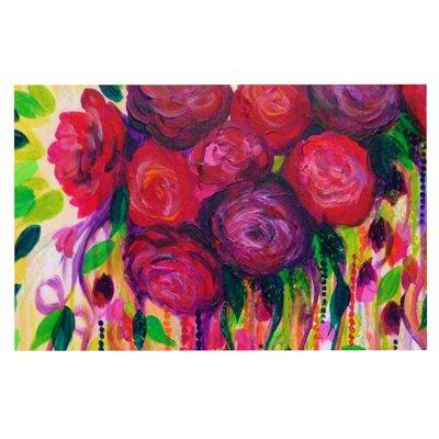 Ebi Emporium Roses Doormat