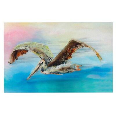 Josh Serafin Coast Ocean Bird Doormat