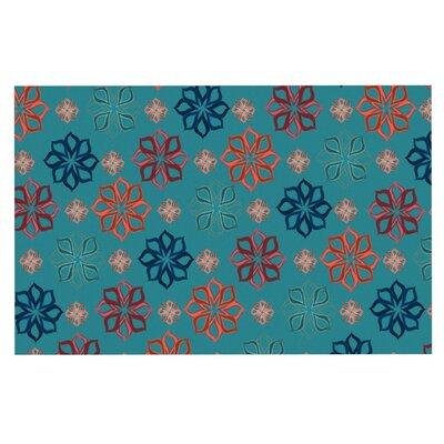 Jolene Heckman Mini Flowers Doormat