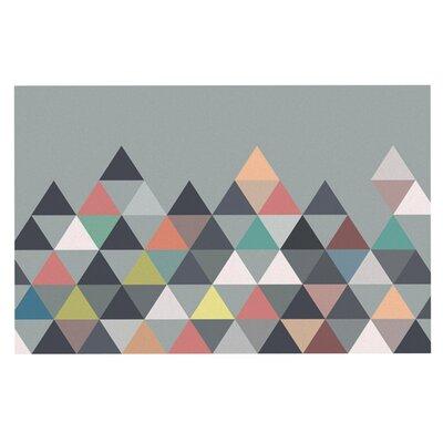 Mareike Boehmer Nordic Combination Abstract Doormat