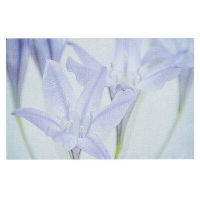 Iris Lehnhardt Triplet Lily Flower Doormat