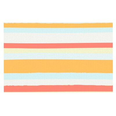 Nika Martinez Stripes Doormat