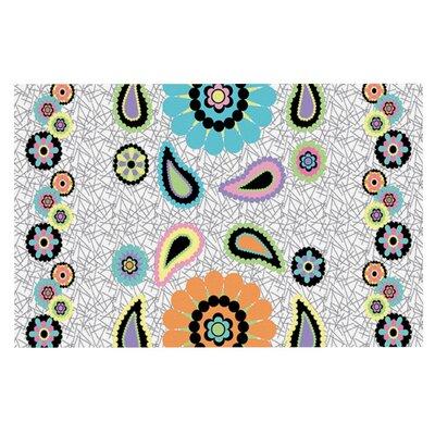 Nina May Moda Paisley Flower Doormat