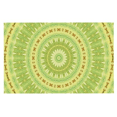 Iris Lehnhardt Wheel of Spring Circle Doormat