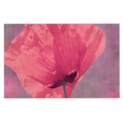 Iris Lehnhardt Poppy Flower Doormat