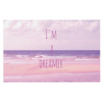 Iris Lehnhardt Im a Dreamer Beach Doormat