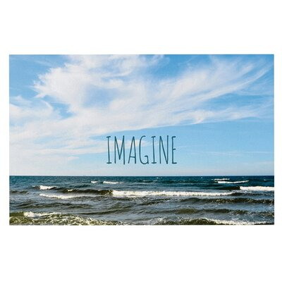 Iris Lehnhardt Imagine Beach Sky Doormat