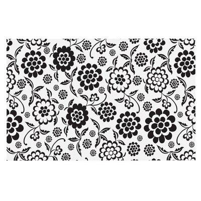 Nicole Ketchum Cherry Floral Doormat