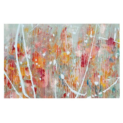 Iris Lehnhardt Joy Splatter Paint Doormat