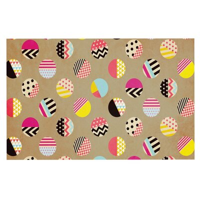 Louise Machado Fun Circle Geometric Doormat