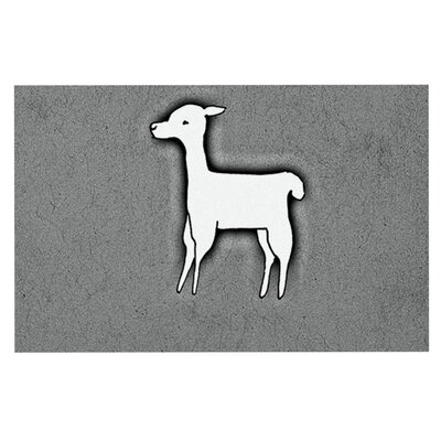 Monika Strigel Llama One Doormat