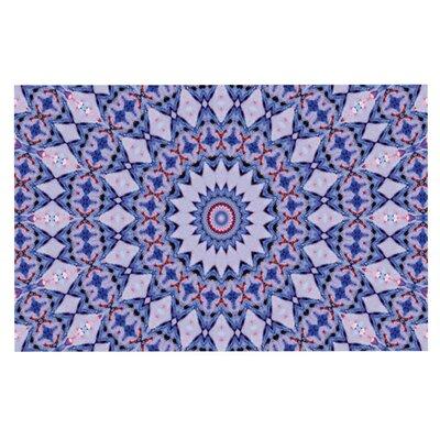 Iris Lehnhardt Kaleidoscope Circle Doormat