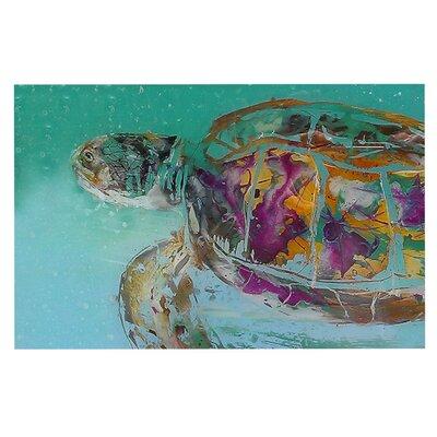 Josh Serafin Mommy Turtle Doormat