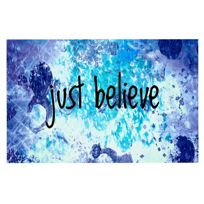 Ebi Emporium Just Believe Doormat