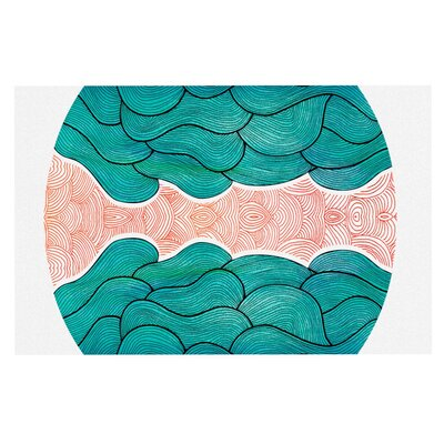 Pom Graphic Design Ocean Flow Doormat