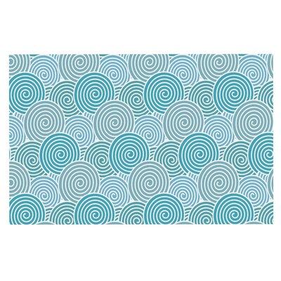 Nick Atkinson Ocean Swirl Doormat