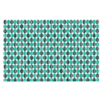 Michelle Drew Distressed Circles Doormat