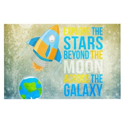 Nick Atkinson Explore the stars Doormat
