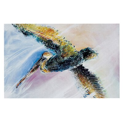 Josh Serafin Overhead Pastel Bird Doormat