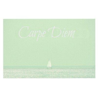 Robin Dickinson Carpe Diem Ocean Doormat