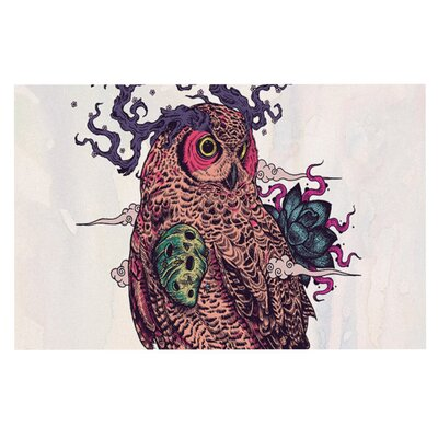 Mat Miller Regrowth Natural Owl Doormat