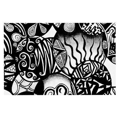 Pom Graphic Design Circles and Life Doormat