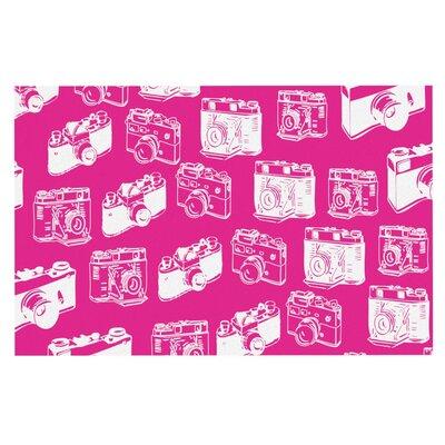 Camera Doormat Color: Magenta