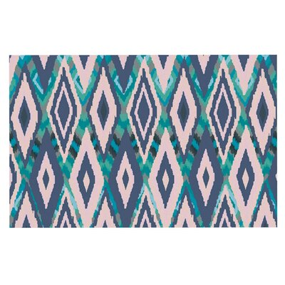 Nika Martinez Tribal Ikat Doormat