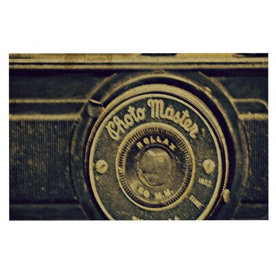 Robin Dickinson Discarded Treasure Vintage Camera Doormat