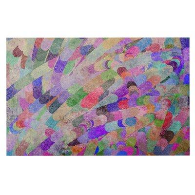 Marianna Tankelevich Abstract Rainbow Doormat