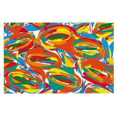 Matthias Hennig Go Left Crazy Doormat Color: Crazy