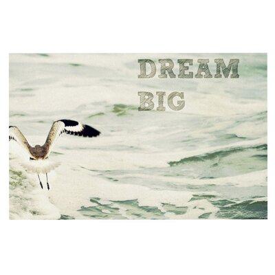 Robin Dickinson Dream Big Ocean Bird Doormat