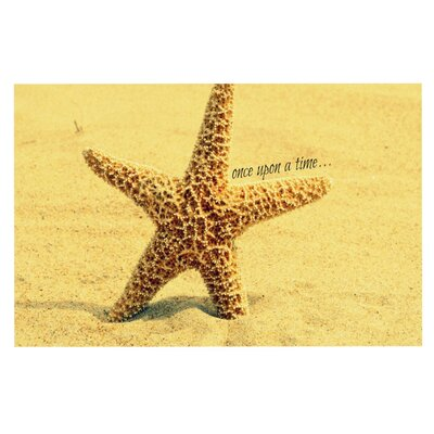 Robin Dickinson Once upon a Time Starfish Doormat