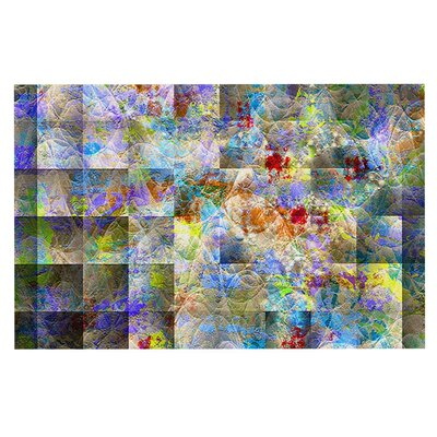 Micah Sager Yggdrasil Rainbow Abstract Doormat