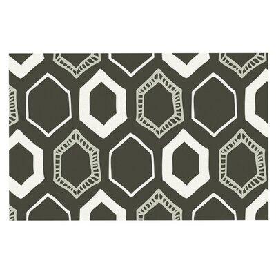 Laurie Baars Hexy Geometric Doormat