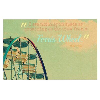 Robin Dickinson Ferris Wheel Doormat